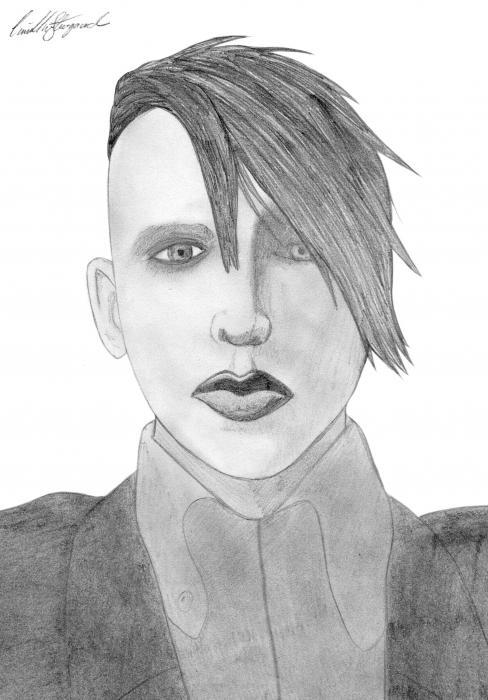 Marilyn Manson por CamillaStougaard